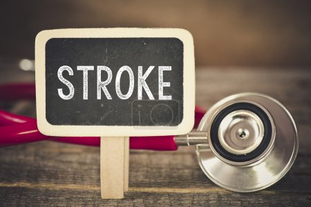 Stroke  and stethoscope