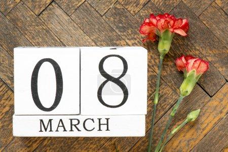 8 mars fond