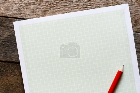 Papper with pencil