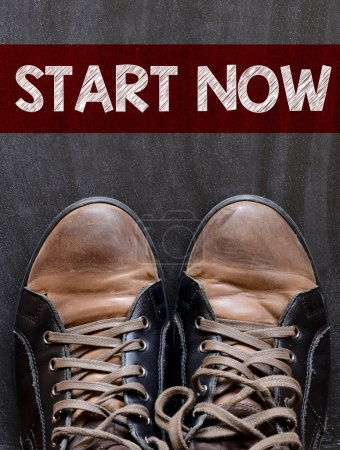Start now with  sneakers
