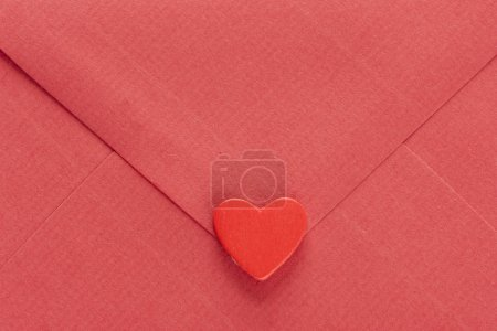 Red  envelope with heart