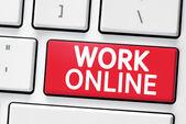 Klávesnice s tlačítko online práce
