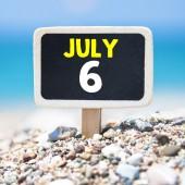 6. července na tabuli