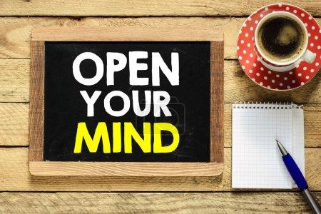 open your mind On Blackboard