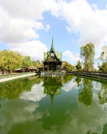 Wat lan kuad, Srisaket,  Thailand
