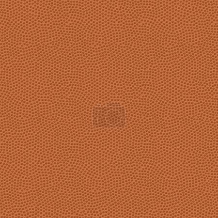 Seamless Basketball Texture