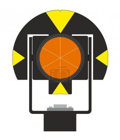Geodetic prism device