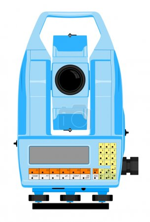 Total station device