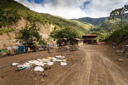 Dirt Road in Myanmar