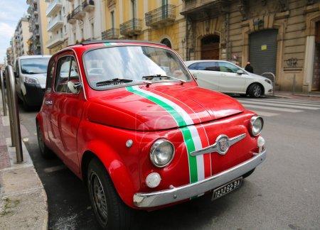 Fiat 500 in Bari Italy