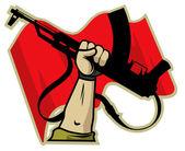 revolutionary logo vector