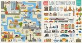 Great city map creatorSeamless pattern map