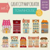 Great city map creator House constructor House cafe restaura