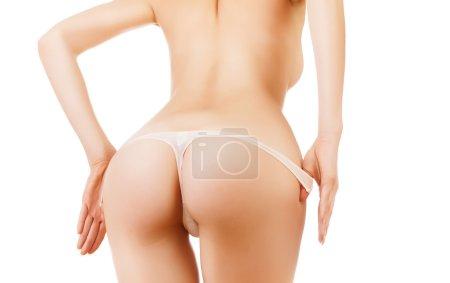 Sexy woman buttocks