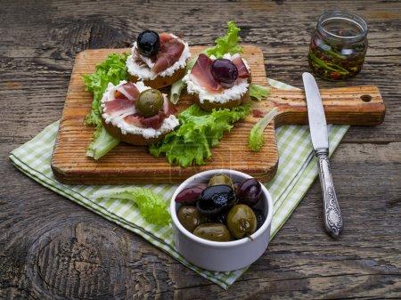 Spanish food tapas