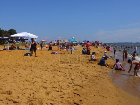 Sandy Point State Park in Maryland