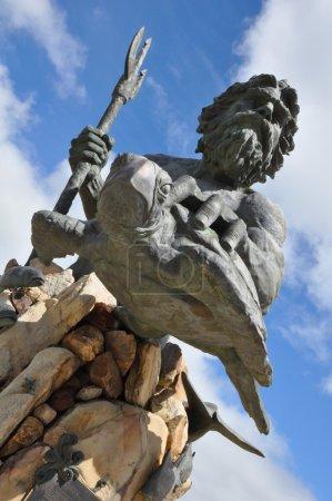 King Neptune's Statue at Virginia Beach in Virgini...