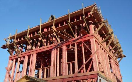New house- construction concept