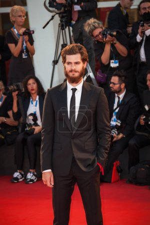 Photo for Andrew Garfield attends the '99 Homes' Premiere during the 71st Venice Film Festival at Sala Grande on August 29, 2014 in Venice, Italy - Royalty Free Image