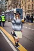 Fendi fashion show at the Milan Fashion Week