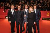 Actors Guy Pearce, Colin Firth, Laura Linney, Jude Law and director Michael Grandage