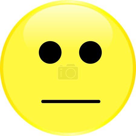 Yellow smiley face.