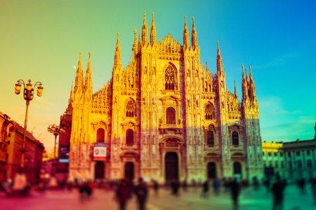 Duomo, cathedral in Milan