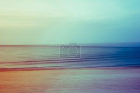 Artistic ocean seascape