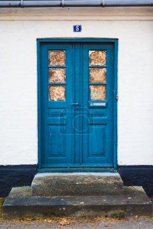 Front door of an House