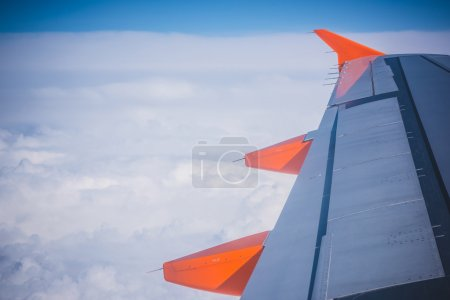 Wing aircraft in altitude