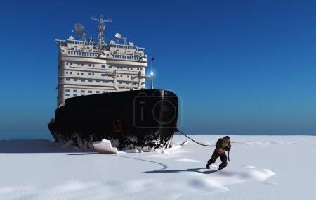 The Icebreaker 3d