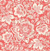 Vector Abstract Elegance Seamless pattern with floral background