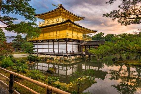 Kinkakuji Temple in Kyoto