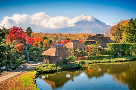 Mt. Fuji at Oshino Hakkai
