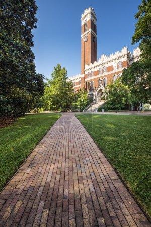 Photo pour Campus de l'Université Vanderbilt à Nashville, Tennessee . - image libre de droit