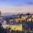 Malaga, Spain cityscape at the Cathedral, City Hal...