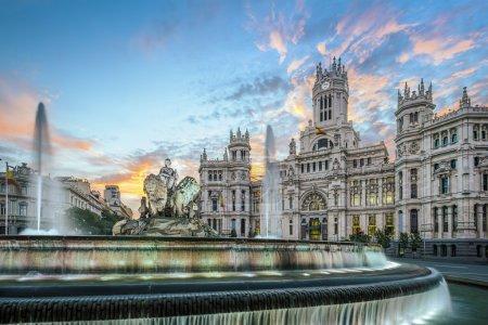 Cibele Plaza in Madrid