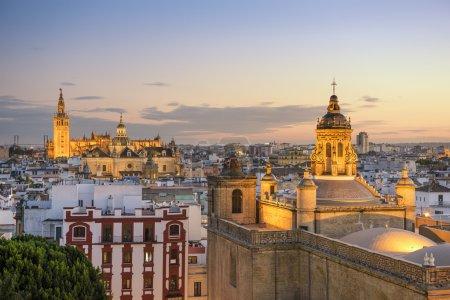 Seville, Spain City Skyline