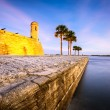 Постер, плакат: St Augustine Florida Fort