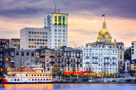 Savannah, Georgia Skyline