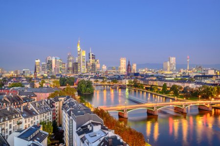 Frankfurt, Germany City Skyline
