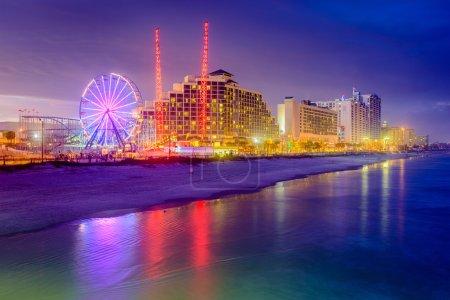 Daytona Beach Florida Skyline