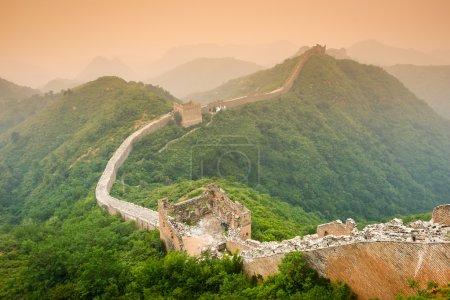 Photo pour Grand mur de Chine. - image libre de droit