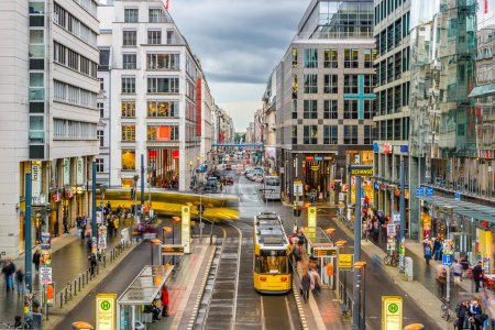 Berlin Shopping Street