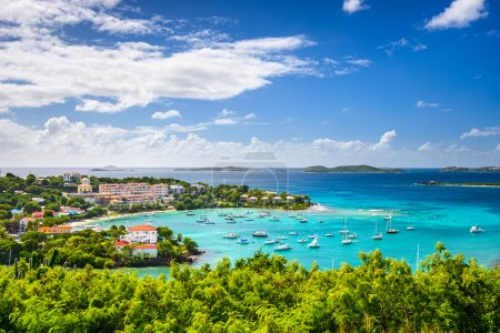 Photo for Cruz Bay, St John, United States Virgin Islands. - Royalty Free Image