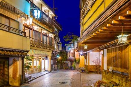 Shibu Onsen, Nagano, Japan historic hot springs re...