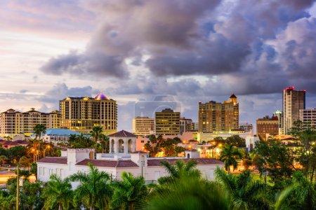 Photo for Sarasota, Florida, USA downtown skyline. - Royalty Free Image