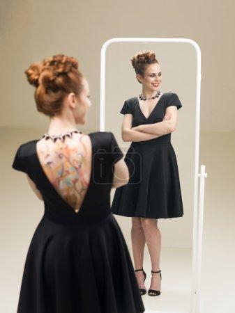 proud of my little black dress