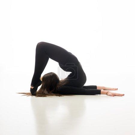 skilled gymnast