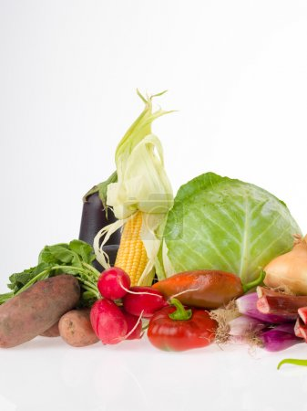 raw vegetables group